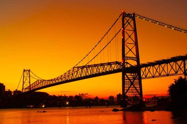 Ponte Hercílio Luz 2012