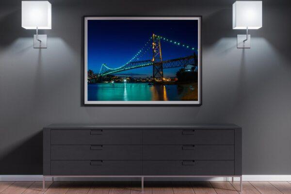 Ponte Hercílio Luz Noturna